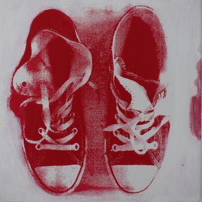 Røde Converse